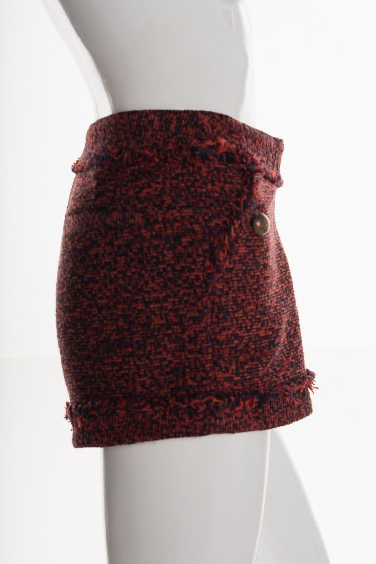 Mixed - Shorts Tweed Tijolo - Foto 3