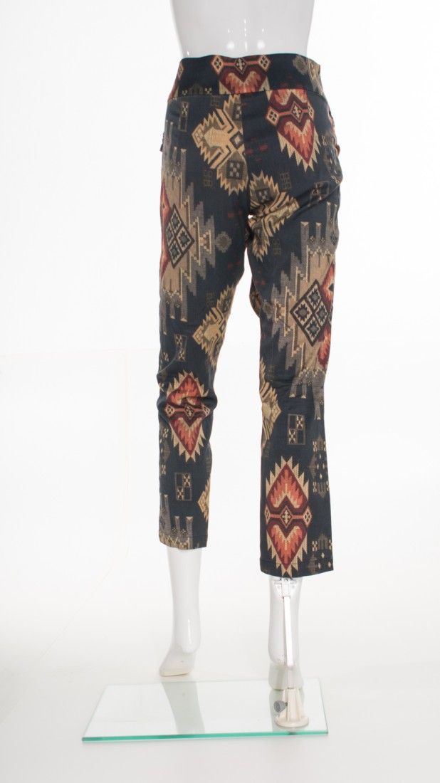 Mixed - Calça Skinny Estampada - Foto 2
