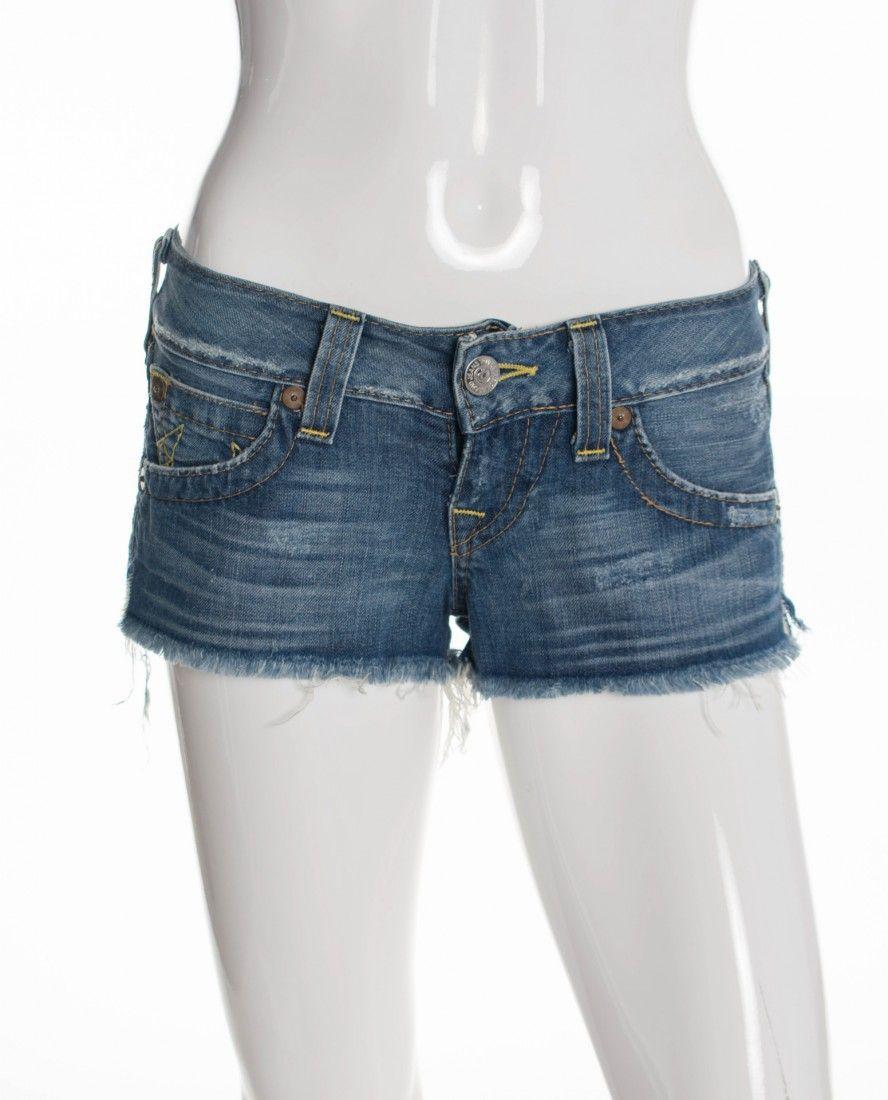True Religion - Shorts Mini Jeans - Foto 1