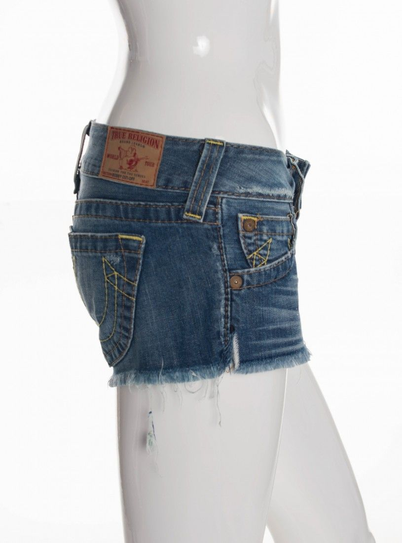 True Religion - Shorts Mini Jeans - Foto 3