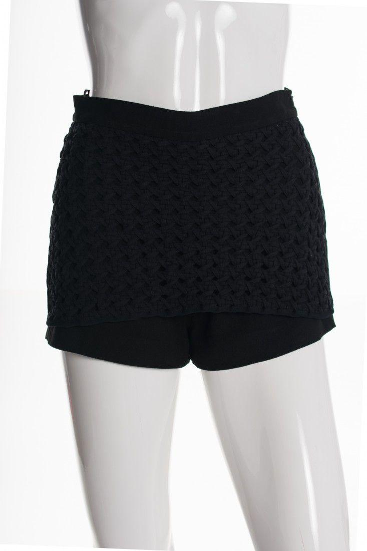 Giuliana Romanno - Shorts Saia Crochê - Foto 1