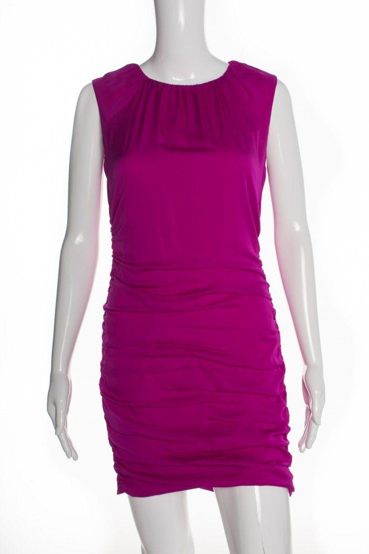 Diane Von Furstenberg - Vestido Seda Pink - Foto 1