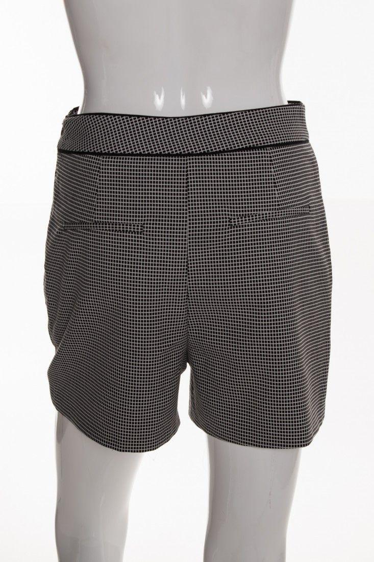 Zara - Shorts Quadriculado Pb - Foto 2