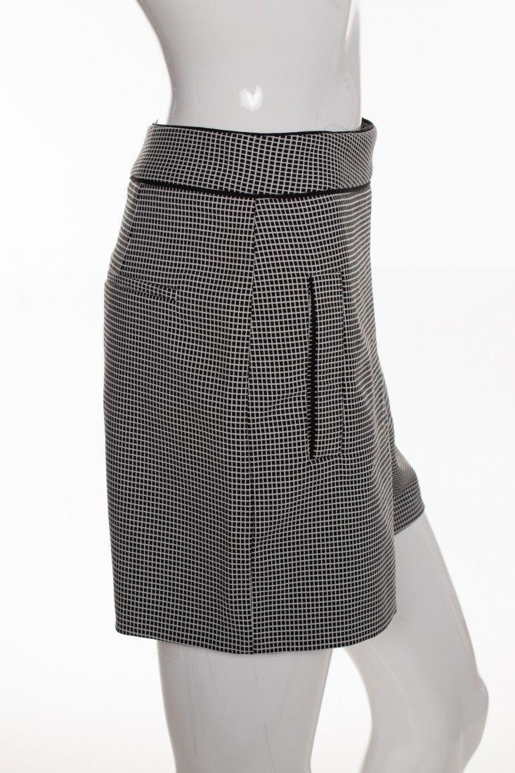 Zara - Shorts Quadriculado Pb - Foto 3