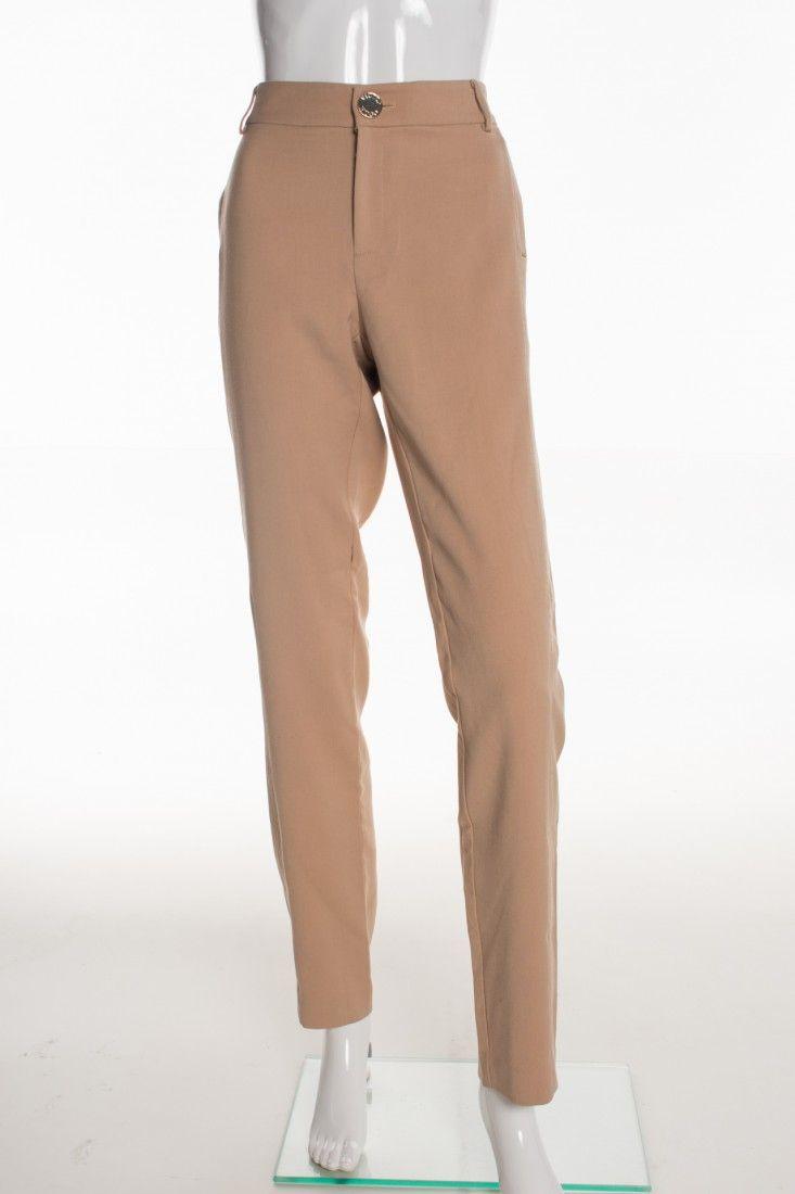 Victor Hugo - Calça Alfaiataria Nude - Foto 1