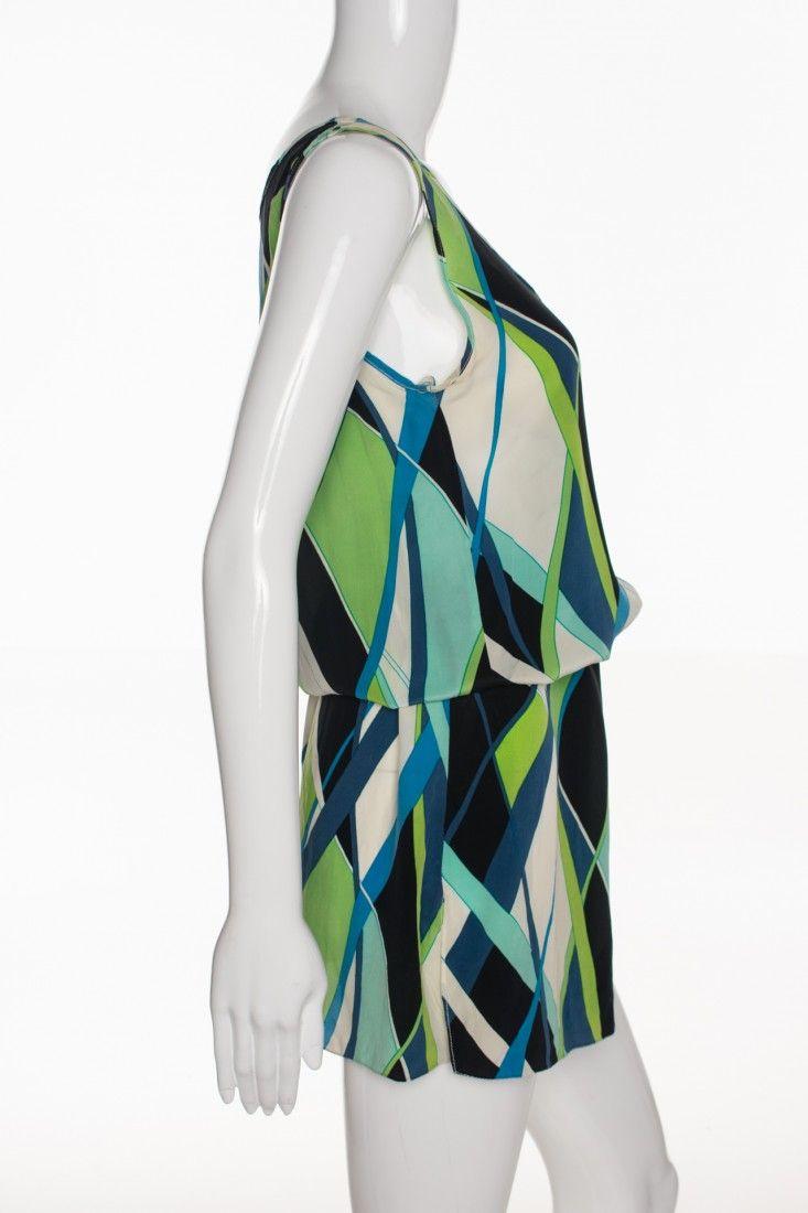 Daslu - Vestido Estampa Geométrica - Foto 3